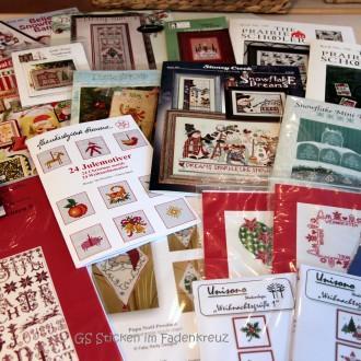 Neue Stickvorlagen für die Weihnachtszeit