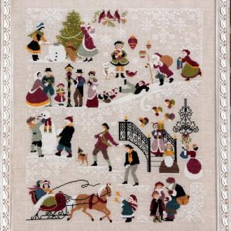 Weihnachtsbilder aus Frankreich
