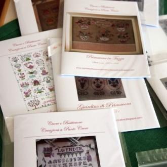 Neue Stickvorlagen aus Italien: Cuore e Batticuore