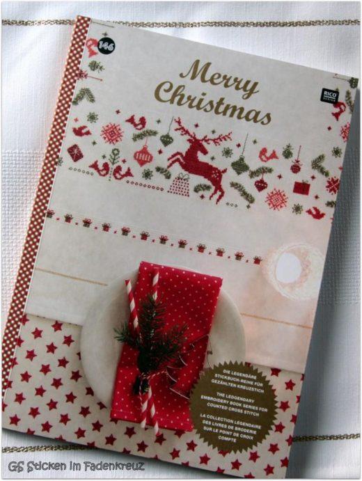 Das neue Weihnachts-Stickbuch von RICO