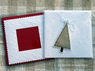 Weihnachts-Grußkarten