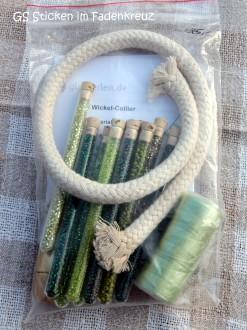Material für eine Perlenkette