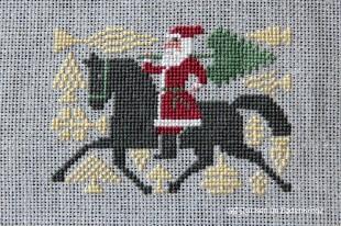 Santa reitet