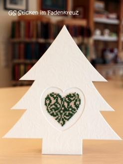 Herz im Tannenbaum