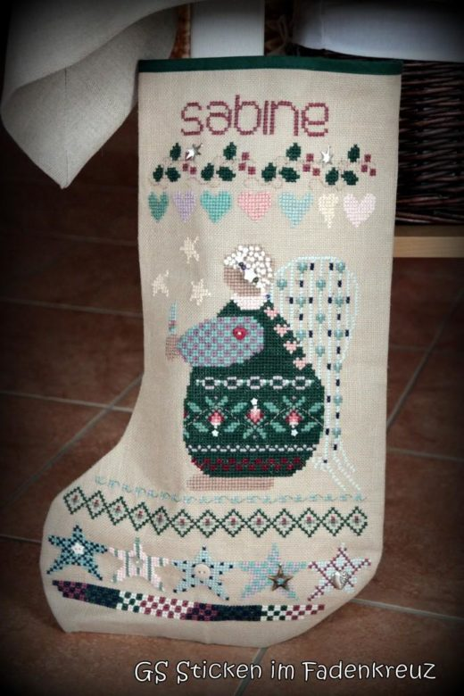 Weihnachtsstiefel Sabine
