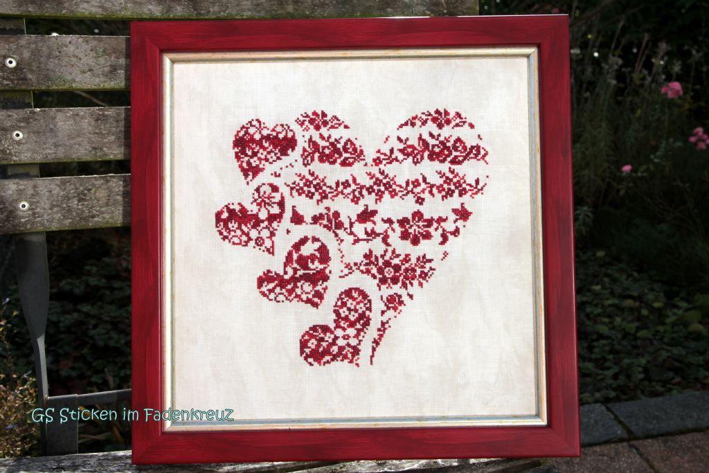 Herz mit kleinen Herzen von Rovaris