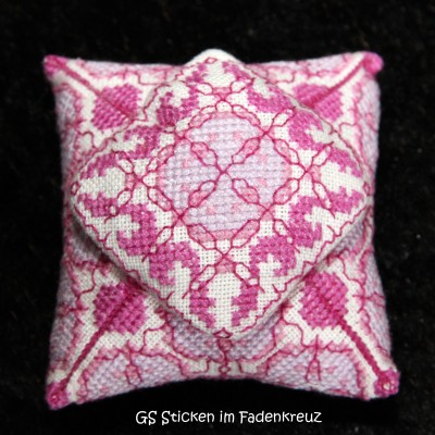 Pagodenkissen in pink