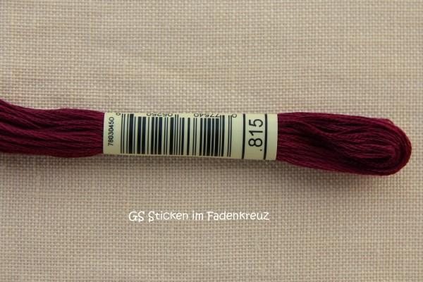 Garnfarbe 815 mit Punkt