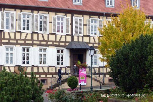 Das Pfarrhaus von Kutzenhausen