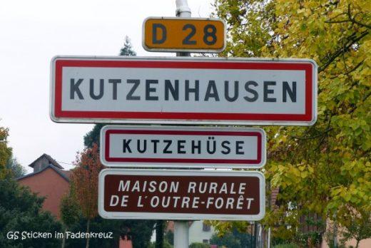 Ortsschild von Kutzenhausen
