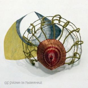 kleines textiles Objekt