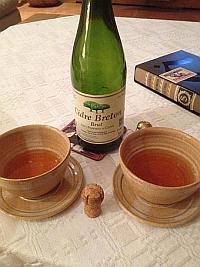 Cidre am Abend