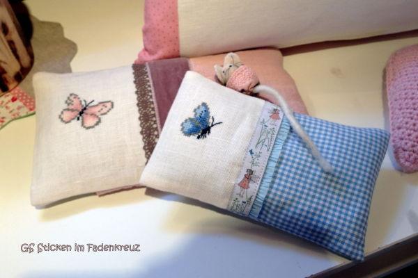 Duftkissen mit Schmetterling