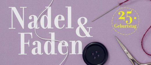 Das Logo der Nadel & Faden 2019 in Osnabrück